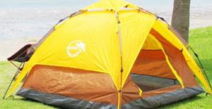 通気性が抜群で虫が入らないテント