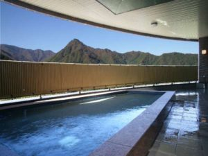 エンゼルグランディア越後中里の露天風呂2