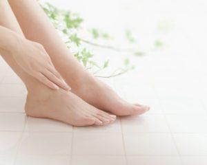 足を清潔に保つ