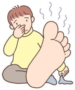 足の臭いにおい