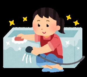 浴室の清掃
