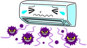 エアコン カビ臭い
