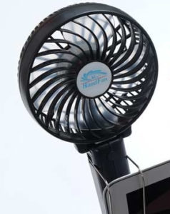 携帯扇風機2