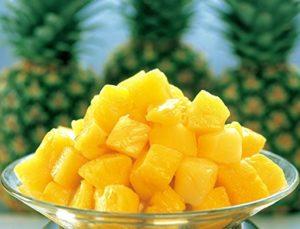 冷凍パイナップル