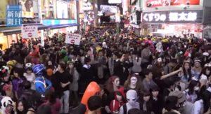 渋谷 ハロウィン スクランブル交差点