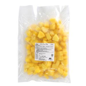 一口サイズの冷凍パイナップル