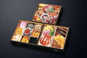 紀文の伝統の三段重の和洋折衷おせち料理