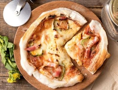 グルテンフリーのピザ2