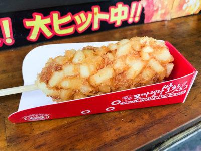 韓国式チーズホットドッグ1