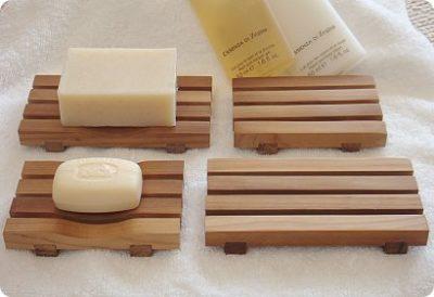 石鹸置き 木製